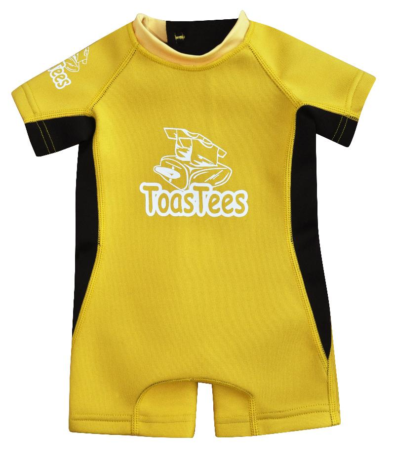 Infant Spring Suit Yellow Black
