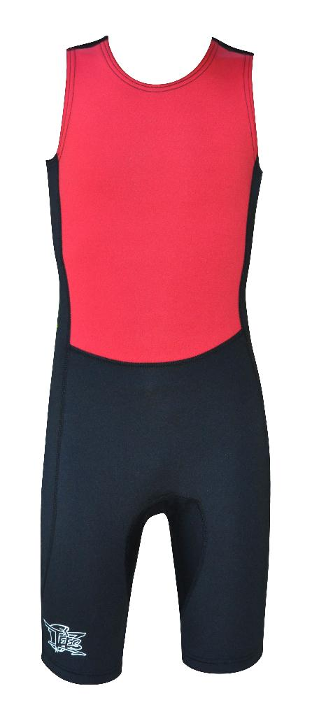 Kids Training Suit Red Black sizes 6, 8 and 10