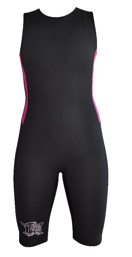 Women's Instructor Series Training Suit Black Pink